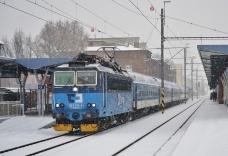 Lokomotivy řady 363 ČDC opět v osobní dopravě